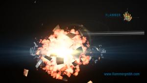 Flammer - Ungeschützte Tankexplosion ohne Rohrsicherung