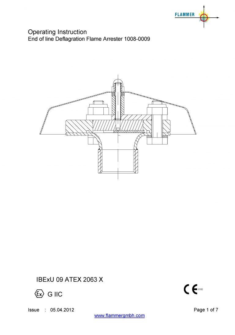 Operating Instruction 1008-0009